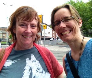 ...alongside my fabulously accomplished colleague, Dr. Nancy Stenson.