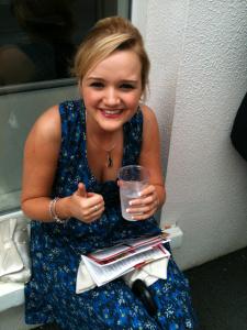 Enjoying Galway Races 2012