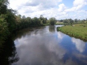 The River Boyne, a mighty river indeed, and famous for its mythology, but surprisingly, NOT one of Ireland's longest.