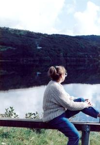Marilyn at Loch Gill